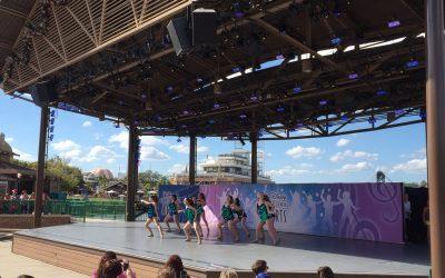 Studio '91 dances at Disney Springs